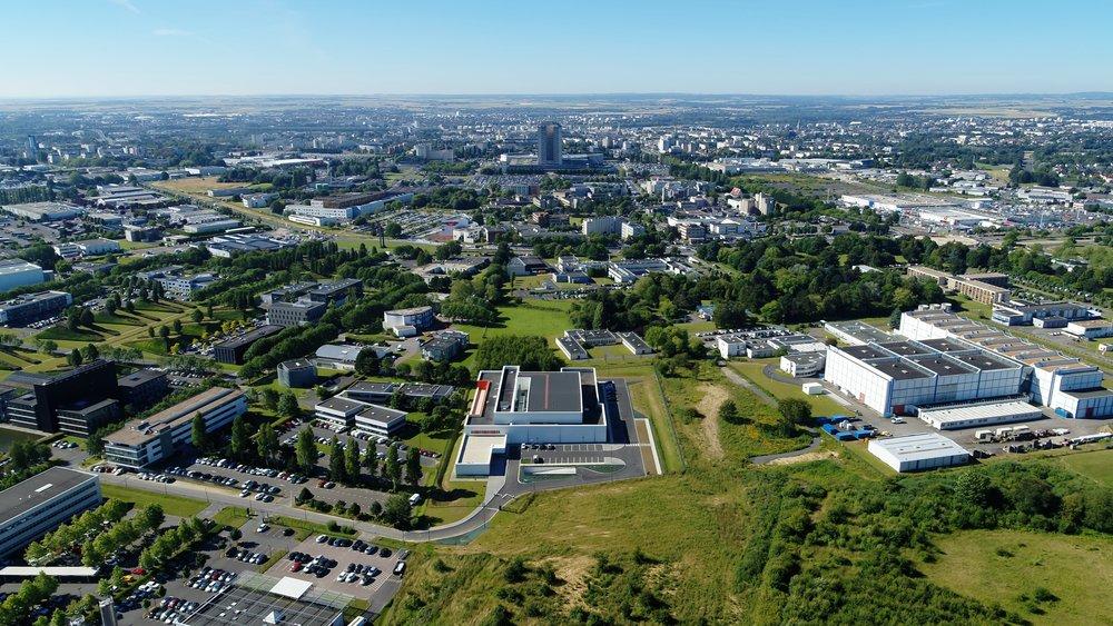 Prises de vues aériennes Caen