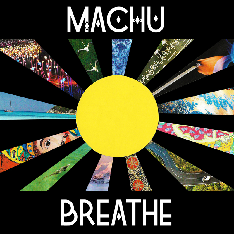 "Single ""Breathe"" cover for music band Machu"