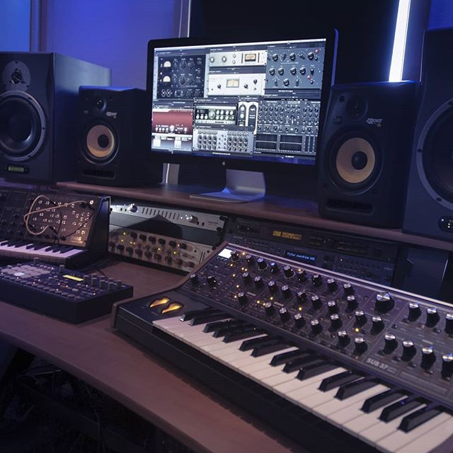 The production lab...