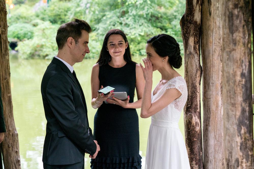 A surprise wedding in July. Photo by  Alex Kikis .