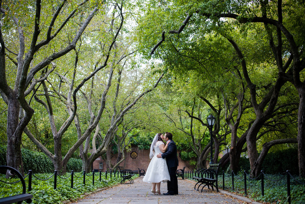 The most romantic path ever. Photo by  Kamila Harris Photography.