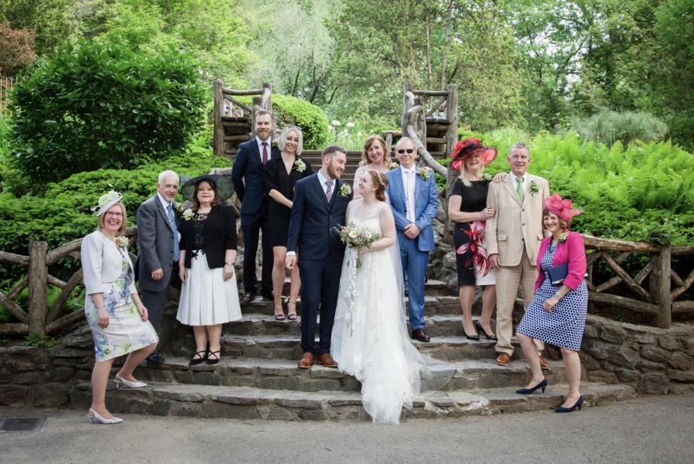 Two lovebugs and their sweet families, all the way from the UK. Photo by  Kristy May.