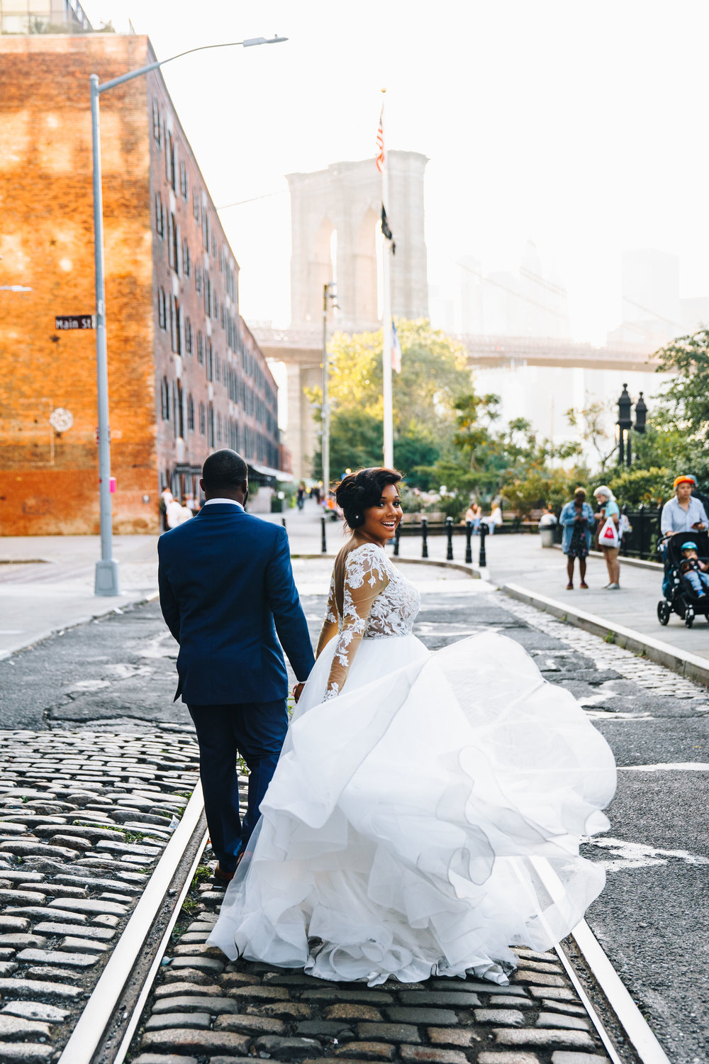 And off into magic hour they go, happily ever after. <3   All photos by  Larisa Shorina Photography.