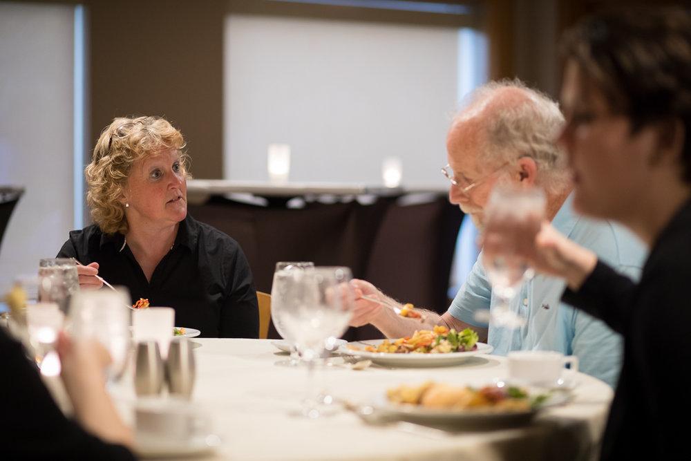 Barb Stevens and Gary Evans