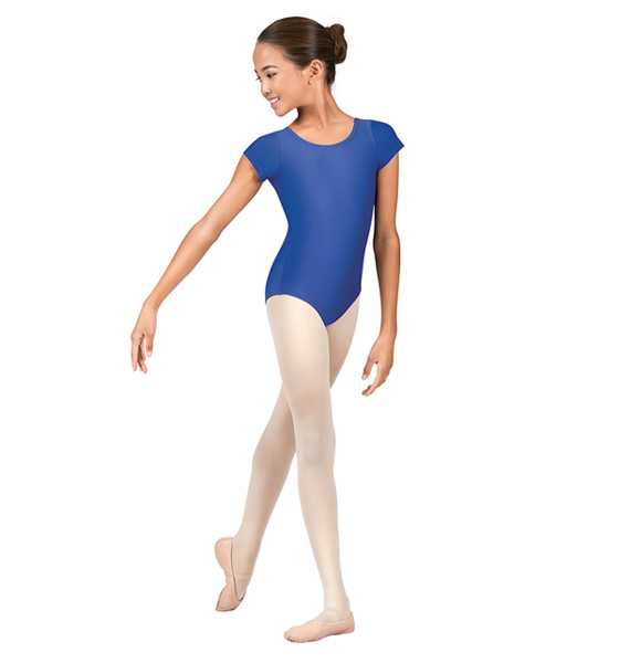Technique Level I Ballet / Tap / Jazz classes   Wear with ballet tights and pink ballet shoes for ballet Wear with black dance tights and either black jazz or tap shoes for tap or jazz.