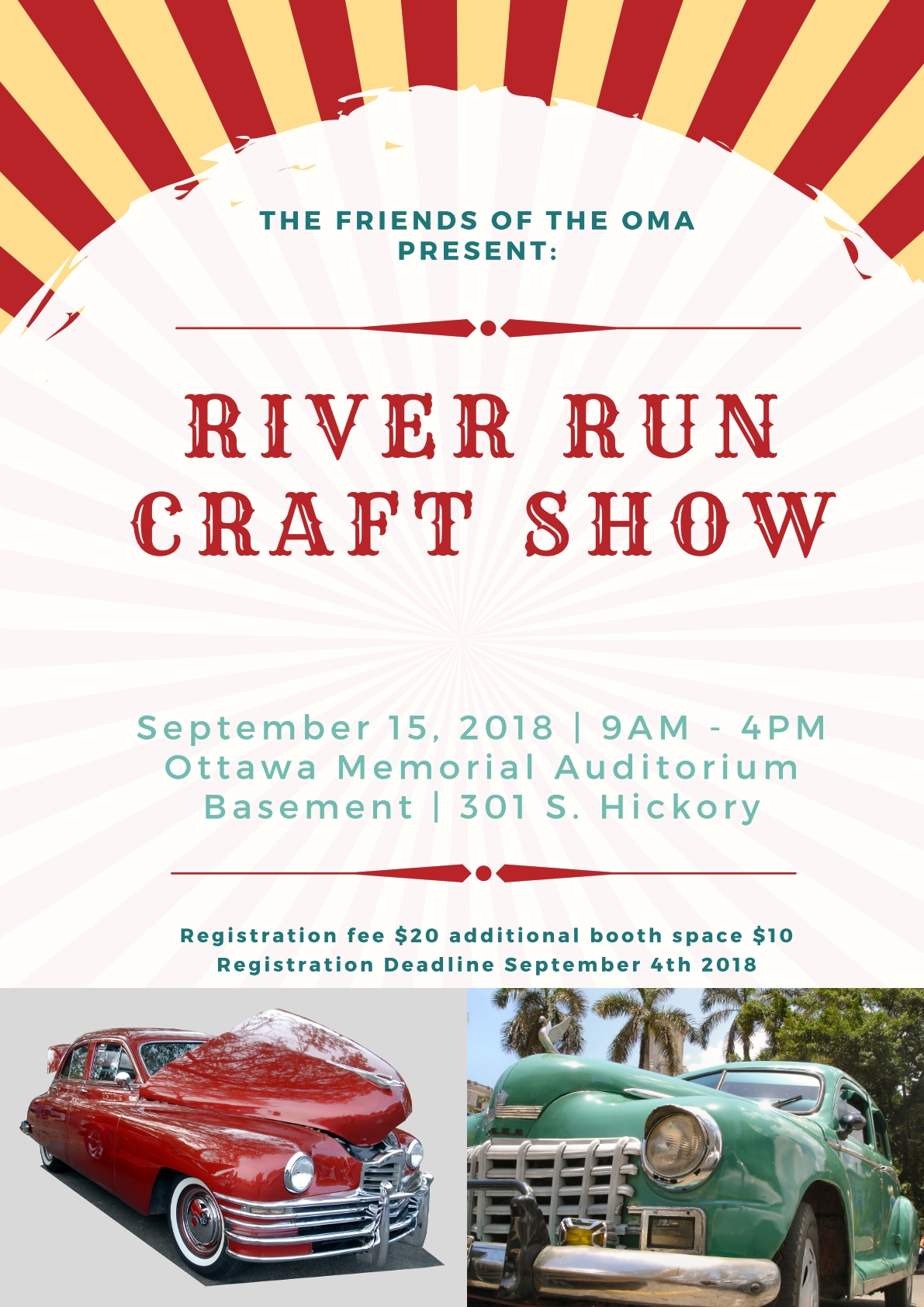 Upcoming Events Ottawa Memorial Auditorium - Ottawa kansas car show 2018