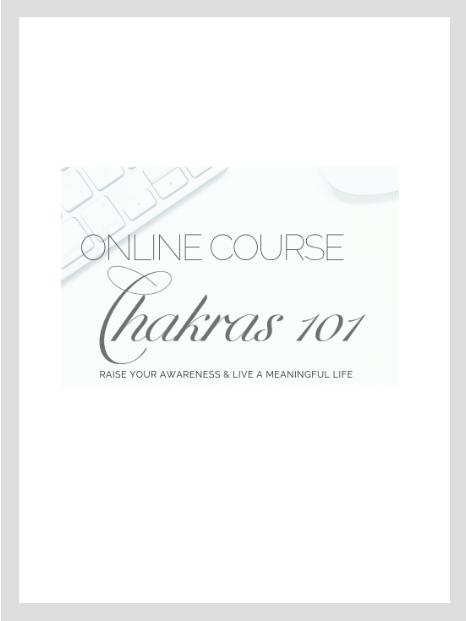 Chakras 101 Online Course -