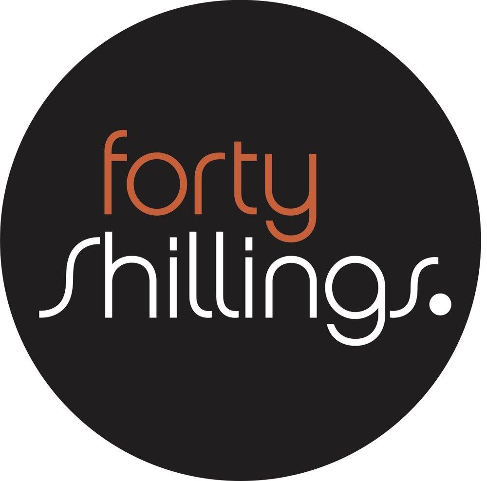 Forty Shillings Logo 2 Col Heavier Opt1 NEG Circle.jpg