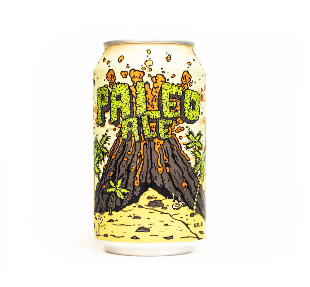 PALEO ALE - American Pale AleABV: 5.5% IBU: 35Notes of citrus, white grape, caramel and toast. Our most popular Pale Ale, well balanced and suited for any Ozark adventure.