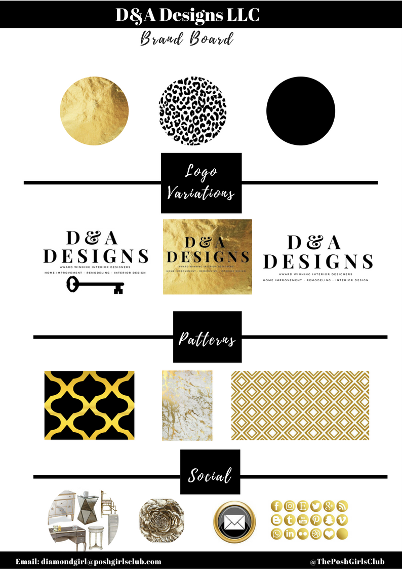 D&A Designs LLC - Here's a sneak peek into one of our newest clients. D & A Designs is an Award Winning, Husband & Wife team! Their specialties include interior design, remodeling, and full service home improvement. You'd think that we discovered one another completely on accident. However, I don't believe in accidents. I believe in Serendipity! I liked one of their room projects, it was fan-freaking-tastic! And Dereky saw my comment, then contacted me about helping develop their online presence. I'd say this is a match made in design Heaven!Did I mention that she IS Miss Maryland??Check out the ongoing project @ www.extraordinaryhomeaccents.comReady for your brand makeover?Click Here