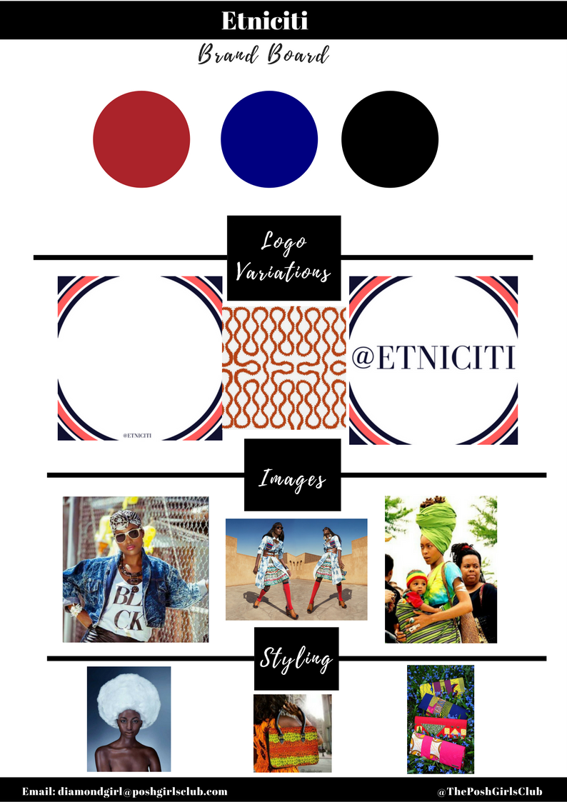 Etniciti is a brand that  I am very proud to have worked with.   - She has very little internet savvy. But very big desire to make her online business a success. The items are hand designed by her sister in Africa. She does all of the digital work, even with very little knowledge. What did I do? 1. Develop branded content. 2. Teach her how to create a successful sales funnel. Within 2 days of our branding & content creation sessions, she got it! Her clicks went up 400%!! We developed a sales funnel for her business. And 3. I taught her how to curate her own content that would work for her business. In her monetize session, I taught her how to use Facebook ads that were so targeted, she was able to get her niche market down in ways that she didn't even know she could! We also set her up with influencers for her brand. This is one of my favorite branding clients of all!Get Your Makeover Here.