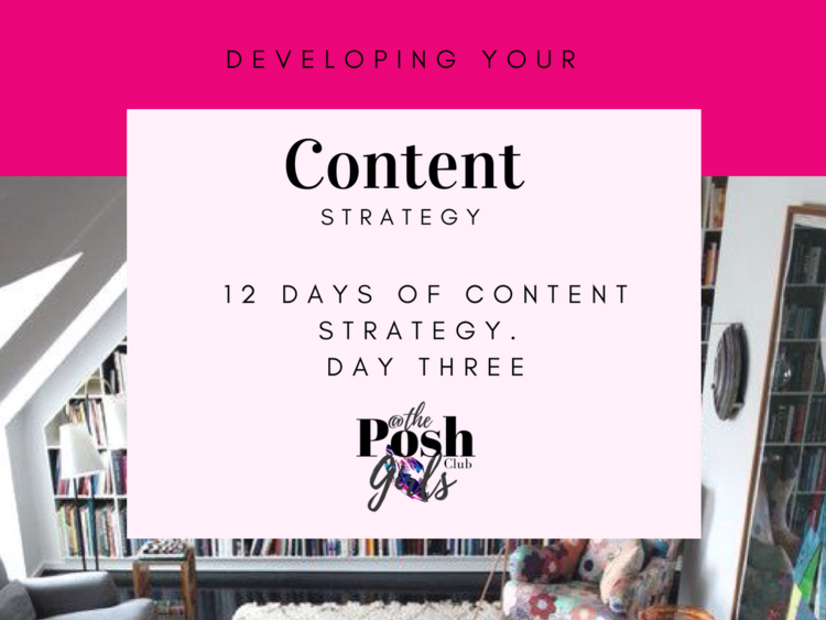 Developing Your Content Strategy
