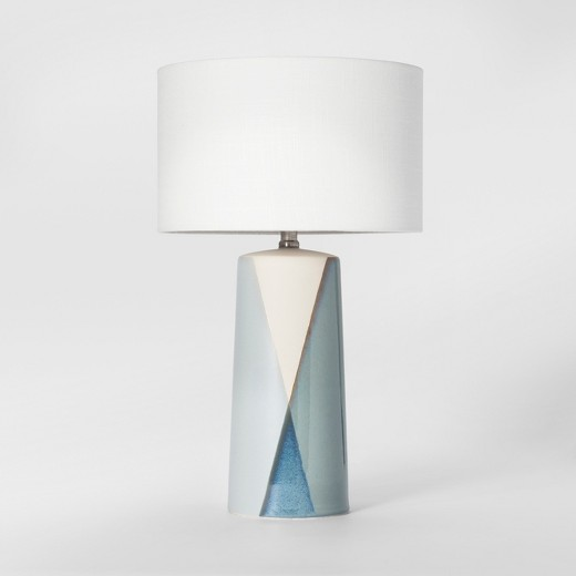 Ceramic Table Lamp - I just recently purchased this table lamp for staging, and I am so over the moon about it! It has the prettiest shades of blue on it, and I really like that it's tall. Get it HERE.