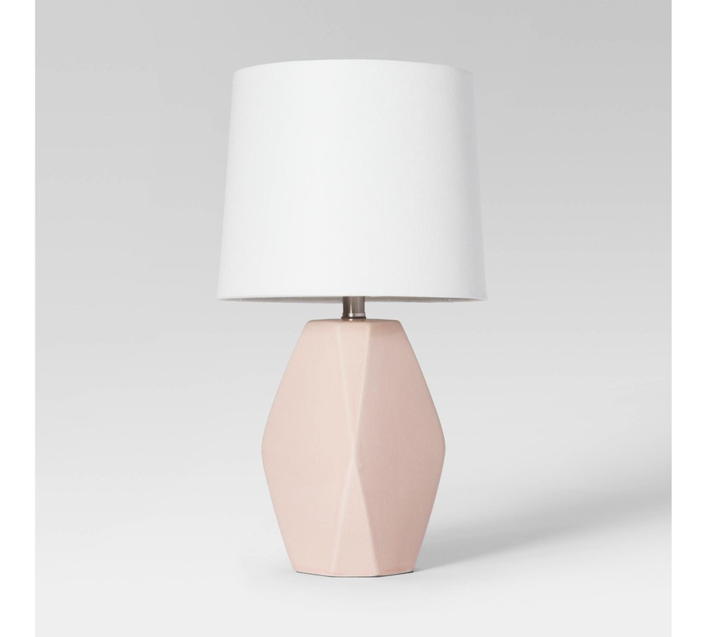 Pink Ceramic Table Lamp - I had to throw in something pink and girly in this post, because blush tones make me swoon. This lamp is the PERFECT blush pink without being too pink or too yellow. I actually bought this lamp for a recent project and I think I might buy it for myself. You can buy it HERE.