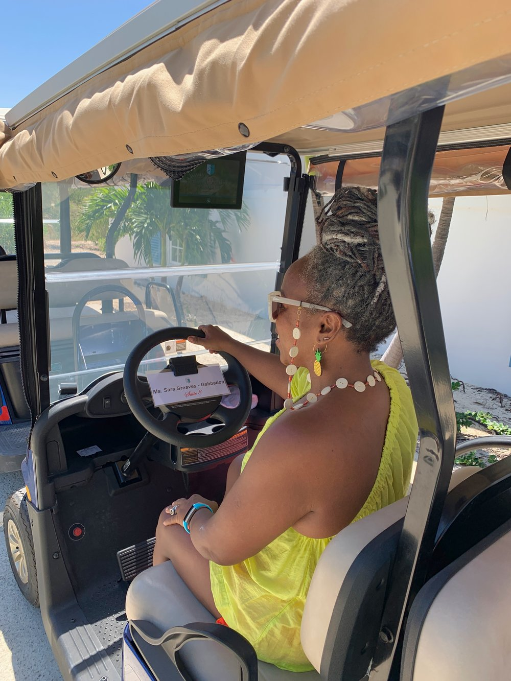 I'm ALL about that golf cart life!
