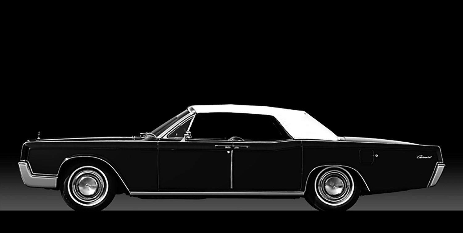 1967 Lincoln Continental Four Door Convertible Chicago Vintage 1953