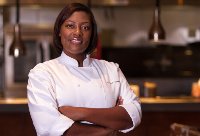 Chef Tiffany Derry is an entrepreneur, restaurant consultant, and tv personality.