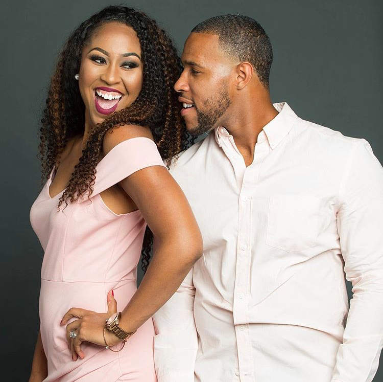 """Ashley Empowers"" and her husband Carrington Brown, her strongest advocate and partner in business."
