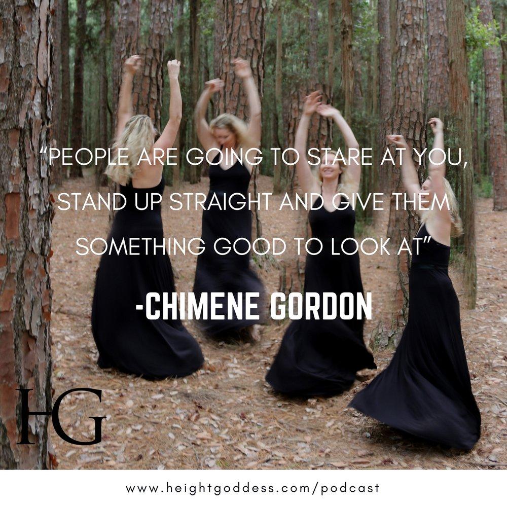 Chimene Gordon wearing a HEIGHT GODDESS Maxi Dress.
