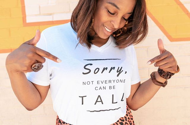 FACTS❣️⠀⠀⠀⠀⠀⠀⠀⠀⠀ •⠀⠀⠀⠀⠀⠀⠀⠀⠀ •⠀⠀⠀⠀⠀⠀⠀⠀⠀ •⠀⠀⠀⠀⠀⠀⠀⠀⠀ #mood #iwokeuplikethis #sorrynotsorry #howwereallyfeel #alldayeveryday #itsagoodday #beproudofyourheight  #lifestylewear #talltuesday #everytallgirl #tallgirlthoughts #tallgirlhumor #graphictee #graphicteeoutfits #graphicteesforwomen #graphicteesarelife #graphicteesrock #lookoftheday #tallgirls #tallwomen #womensgraphictee #talltribe #tallgirlmagic #tallgirlstyle #tallfashion #teamtall #tallandproud #ownit #heightgoddess #tallneverlookedsogood