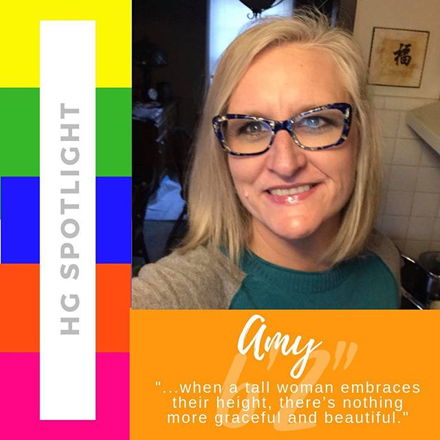 HG Spotlight: Featuring Professor Amy Cindrity who teaches preservice teachers how to teach kids how to read. 🌟 ⠀⠀⠀⠀⠀⠀⠀⠀⠀ Why do you love being a Height Goddess? ⠀⠀⠀⠀⠀⠀⠀⠀⠀ It's taken me a long time to embrace my height. I've been tall all my life and was raised by tall parents and I have tall children and siblings so height has always been a pet of my life. When I finally realized that being tall was a part of my family heritage and how truly unique I am, I began to really love being tall. I think there's always been an element of respect and wonder from strangers about my height. I've learned how to come to terms with the strength of my height and use it to my advantage. ⠀⠀⠀⠀⠀⠀⠀⠀⠀ How has your height created success for you? ⠀⠀⠀⠀⠀⠀⠀⠀⠀ As I've previously mentioned, people have always treated me with an element of respect because of my height. It's made me an incredibly strong, confident woman. As a result, I've pursued and achieved my educational goals of attaining a PhD in education. I feel like when I'm dressed professionally, I'm a power house that demands respect. I attribute this feeing to my height. I think if a tall woman can embrace this power, they are unstoppable. ⠀⠀⠀⠀⠀⠀⠀⠀⠀ What advice would you give to a fellow Height Goddess struggling to embrace their height? ⠀⠀⠀⠀⠀⠀⠀⠀⠀ Your height is a result of carrying on your family heritage. My father was European and considered tall in his country. I've always been so proud of that fact so I stand tall. If tall women can realize they are a truly unique individual and when a tall woman embraces their height, there's nothing more graceful and beautiful. 👩🏼‍🎓 • • • #HGSpotlight  #ilovebeingaheightgoddess #embraceyourheight #uniquegift #height #myadvantage #familyheritage #phd #education #professor #strongconfidentwoman #beproudofyourheight #ownit #confidence #elegant #ilovebeingtall #standout #lovetheskinyourein #walktall #longlegs #tallgirlsrock #tallgirl #tallgirls #tallwomen #tallgoddess #tallgirlmagic #heightgoddess #tallneverlookedsogood