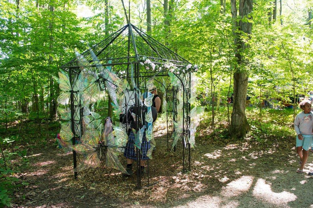 Fairies at the Door County Renaissance Faire
