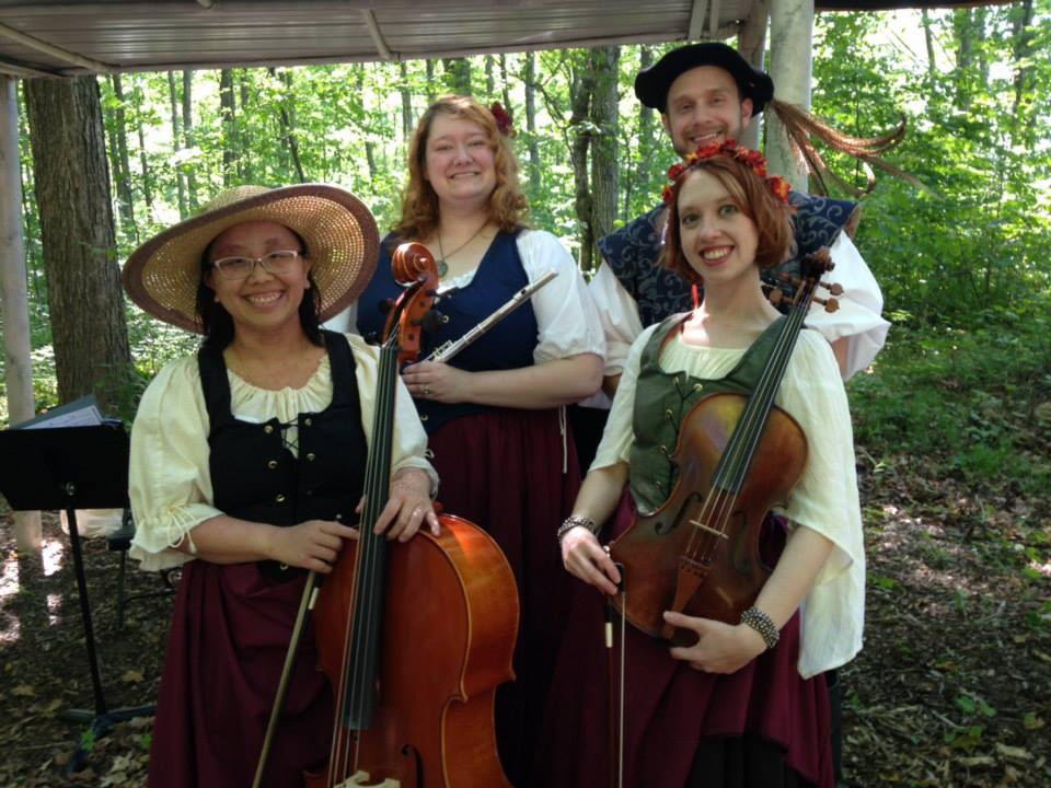 Musicians at the Door County Renaissance Faire