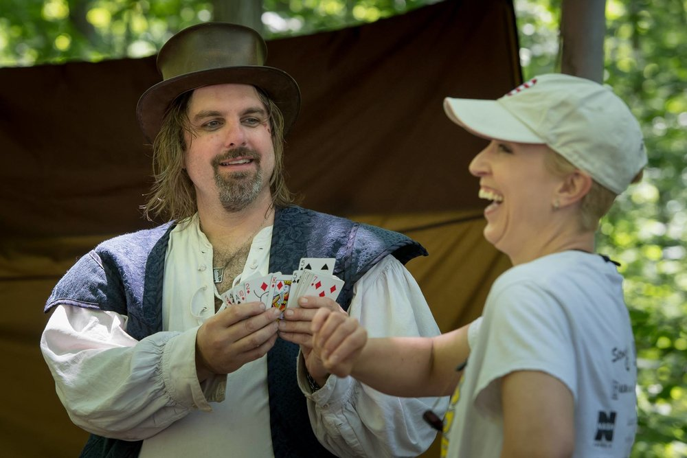 Magic at the Door County Renaissance Faire