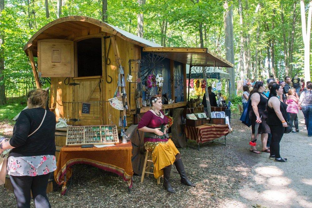 Artistans at the Door County Renaissance Faire