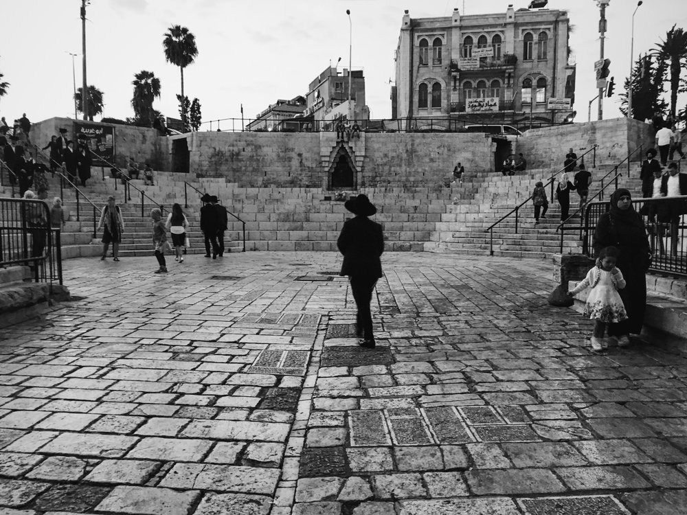 Damascus Gate in the Old City of Jerusalem has been a hotbed of tension in the past few years