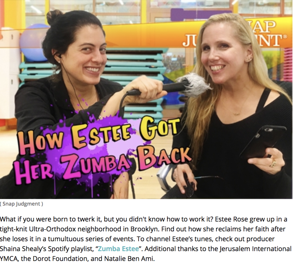 How Estee got her Zumba back
