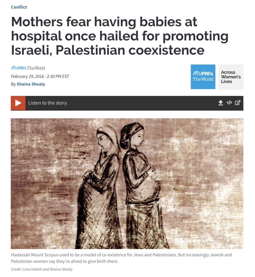 Mothers fear having babies at hospital once hailed for Israeli, Palestinian coexistence