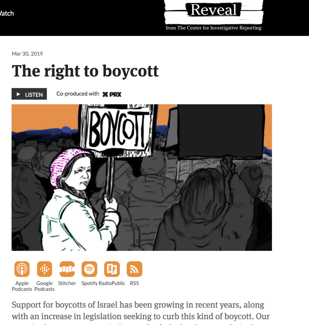 The Right to Boycott