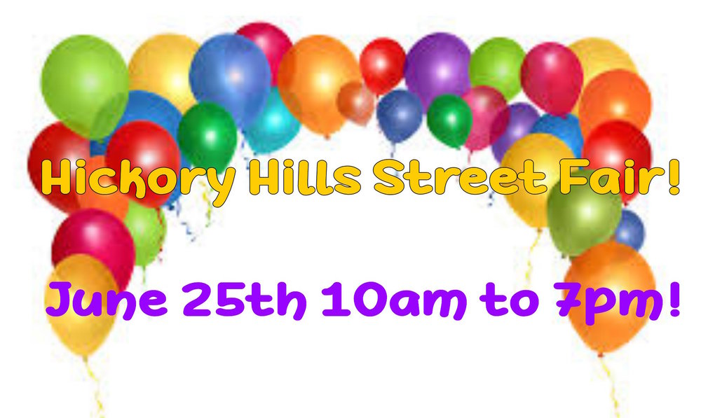- Come join Golden Wing Helping Hands at the Hickory Hills Street Fair! Join in on the fun on June 25th from 10am to 7pm. Help us to raise money to create Care Packages for the Homeless community of Chicago! Located at: Kasey Meadow Park 80457 W 91st Pl Hickory Hills, IL 60457.