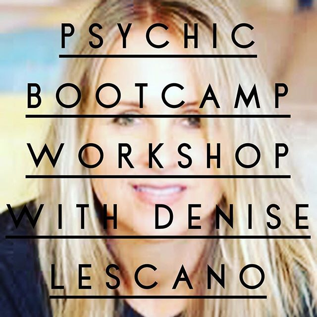 Mark your calendars! Denise Lescano has been teaching in Japan for almost ten years, but she's coming to The Jamar Enlightenment Center to teach a Psychic Bootcamp, October 20th and 21st! This two day workshop is for all levels of psychic abilities! Come and join us for an amazing journey of self-discovery!  Check out www.jamarcenter.com for more information!