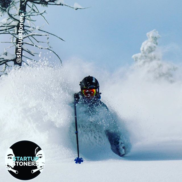 Whose ready for the POW?? #winteriscoming #startupstoners #powderday