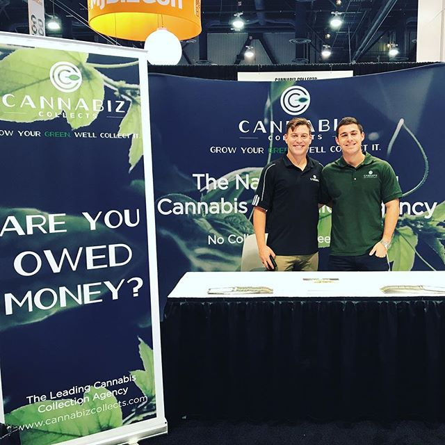 Grow Your Green. We'll Collect It! #startupstoners representing one of our ventures, @cannabizcollects at @mjbizdaily #mjbizcon. Come stop by, booth #4016!