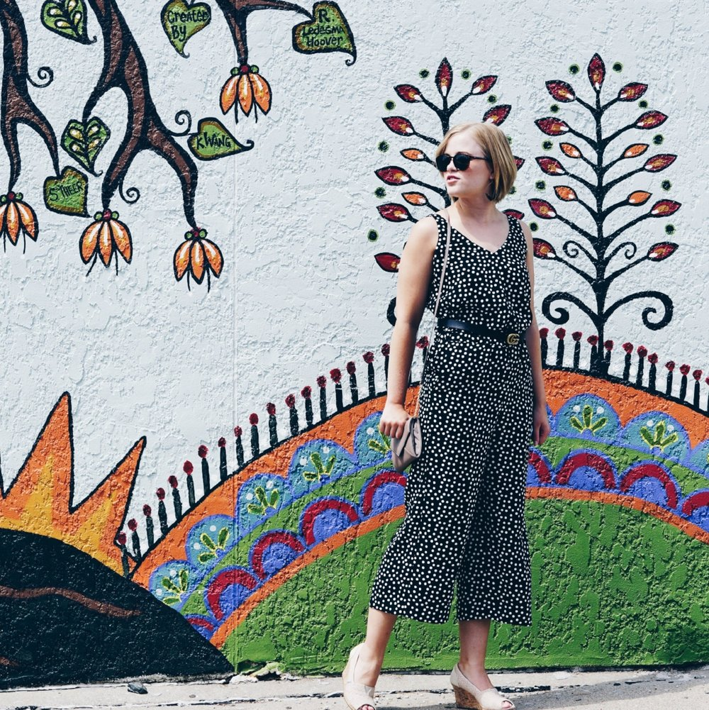 with-the-specs | affordable-style-blog | polka-dot-jumpsuit-1