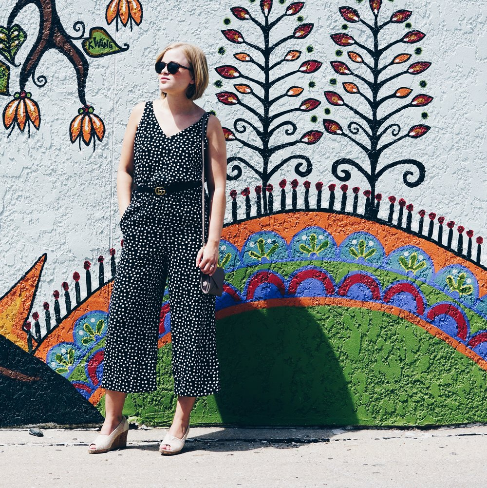 with-the-specs | affordable-style-blog | polka-dot-jumpsuit-3