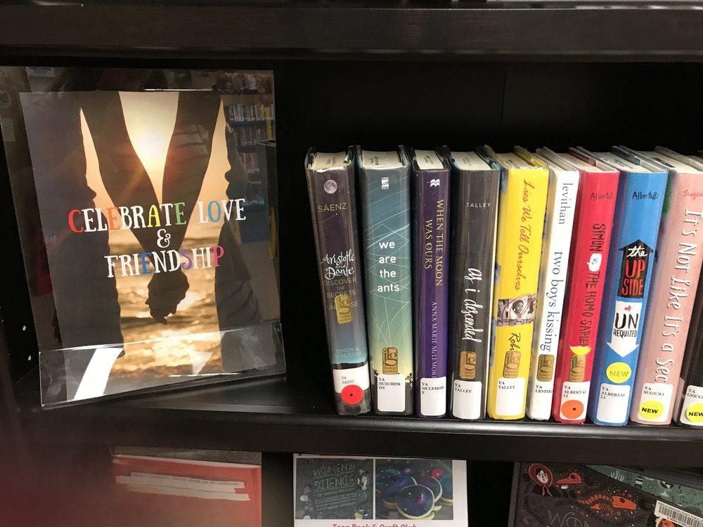 LGBTQ books!