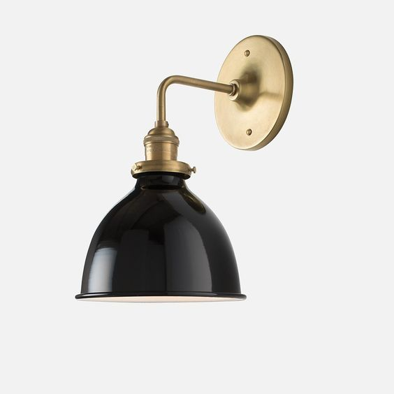 Schoolhouse Satellite Sconce  |  $159