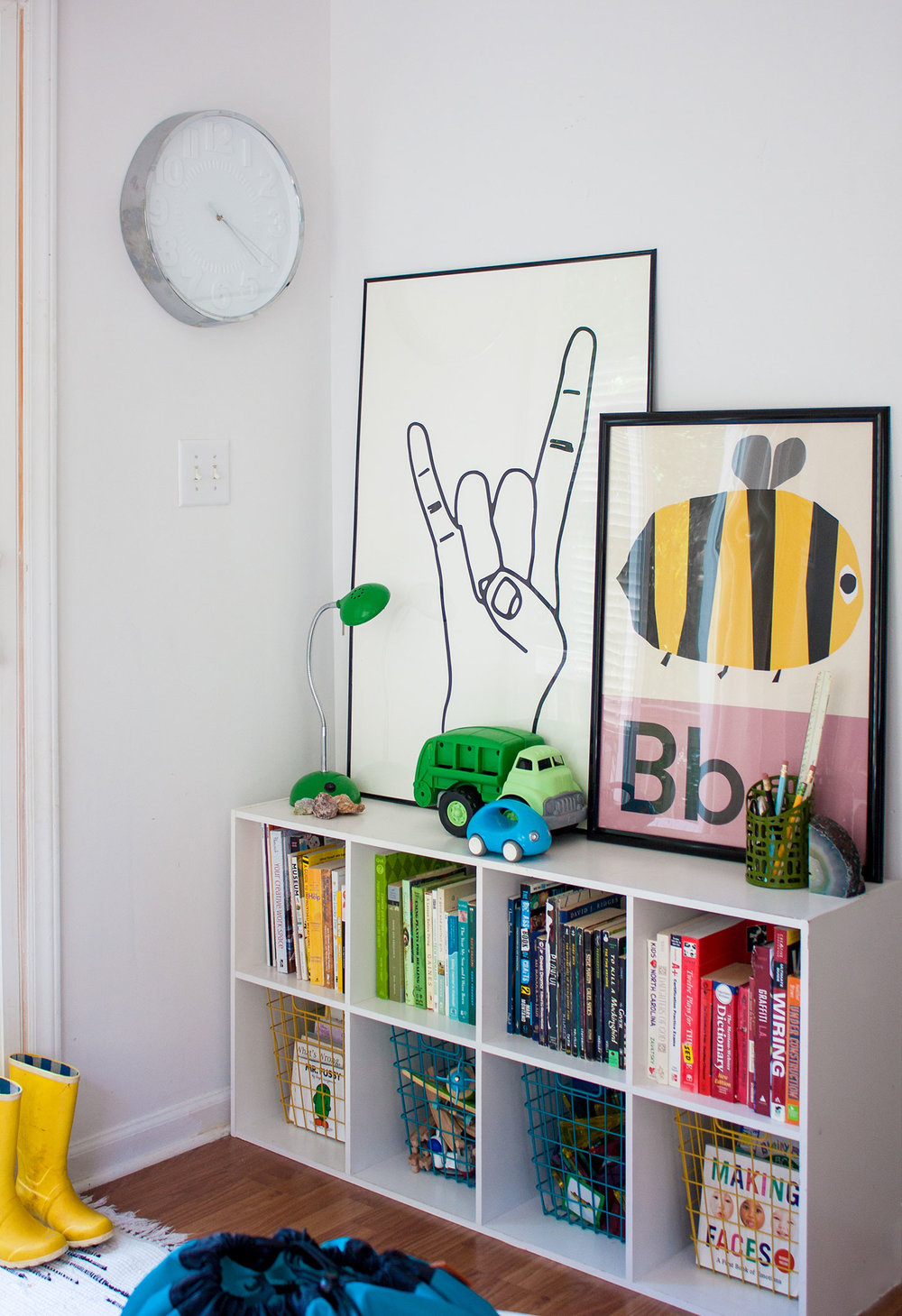 Rock On Print   /   Bee Print