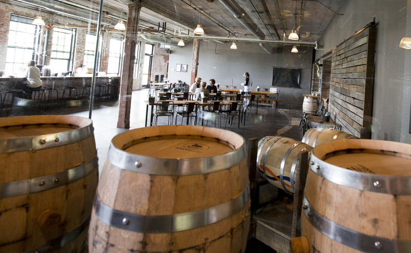 Journeyman Distilling - The Great Lakes are known for beer...that's no secret. However, our best kept secret is our distilleries. Journeyman is one of the fastest growing spirit makers in the region and this tour including a flight dinner and tasting is perfect for the trencherman in your life.