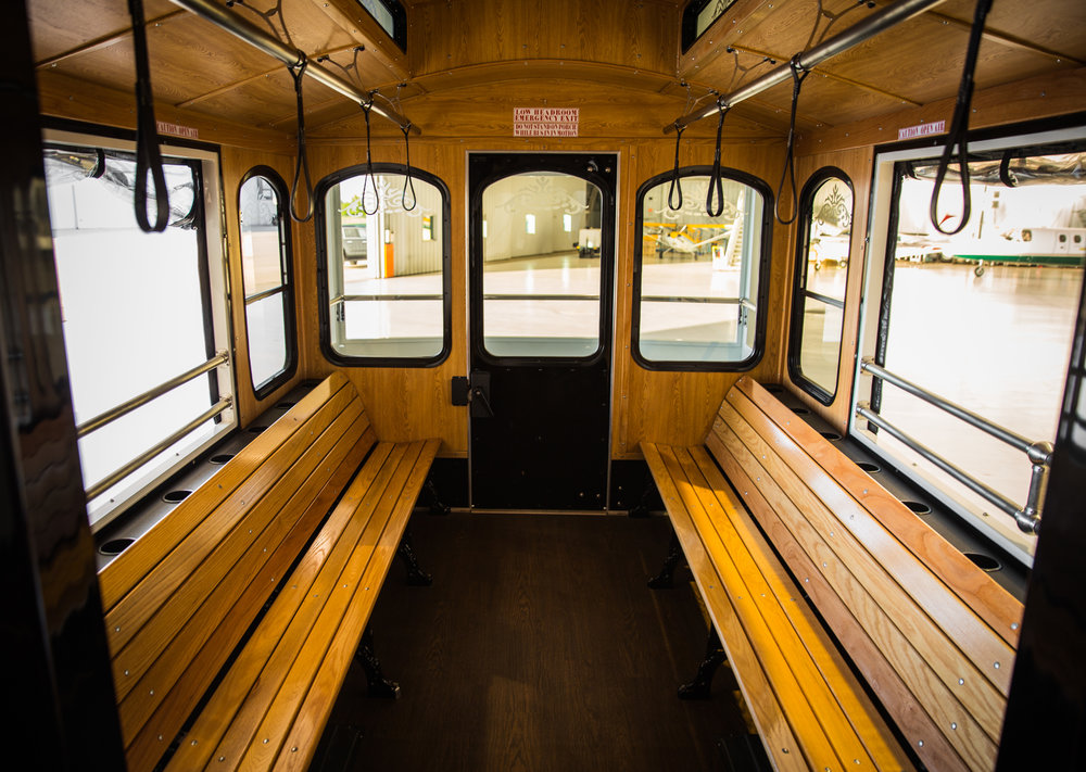 Trolley Service : Seats 30