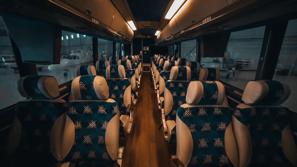 Motor Coach: Seats 55