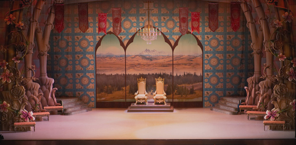 Alberta Ballet Set Design
