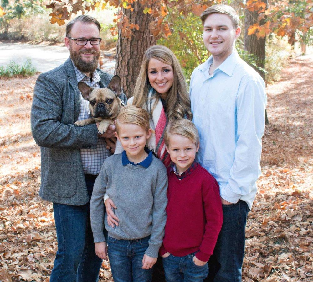 The Jeffares Family