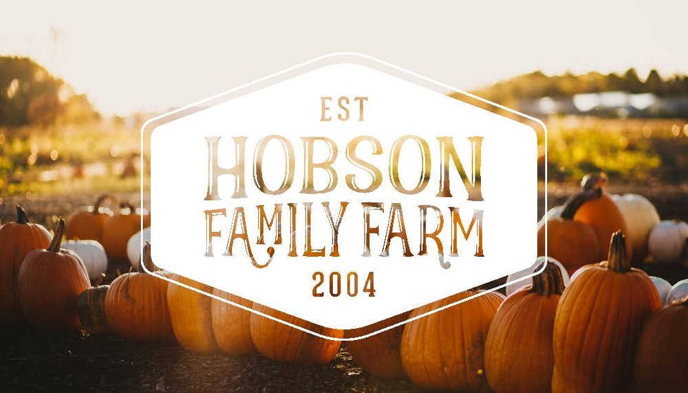 Business Card Hobson Family Farm