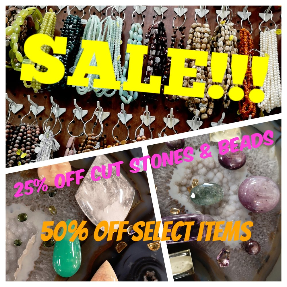 - 25% OFF all Cut Stones & Beads50% off Select Cut Stones & Beads