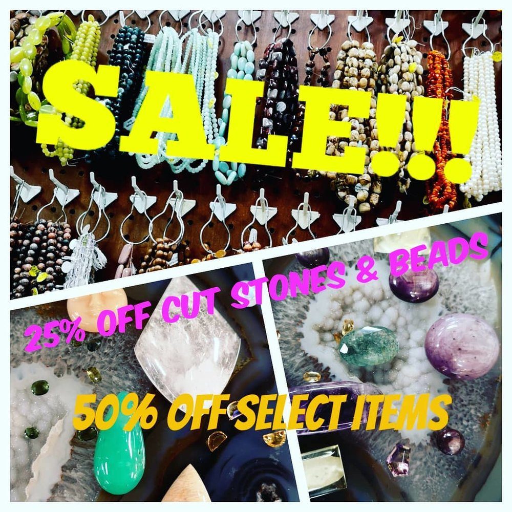 All Cut Stones & Beads - 25% OFF,  (50% OFF Select Items)